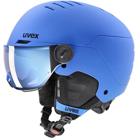 UVEX Rocket Visor Hjelm Børn, blå